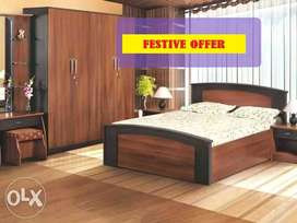 3.14 New complete bedroom set with free delivery