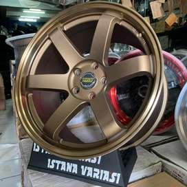Velg 18 VOLK RAYS TE37 5Hole Rush terios Innova Civic Xpander juke dll