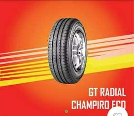 Jual Ban mobil lokal baru gt Champiro Eco ukuran 155/70 R13