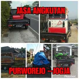 Jasa angkut Angkutan barang Purworejo -Jogja Bang Joni