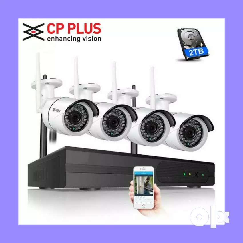 Cctv Cameras DHAMAKA Sale Cc Cameras Setup challenging Rate 0