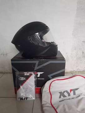 Helm KYT TT-Course blackmatte doff