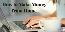 Work form home weekly payments