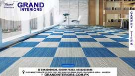 Carpets wall to wall carpet tiles by Grand interiors