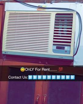 Window Ac's Only for Rent in Summer season.