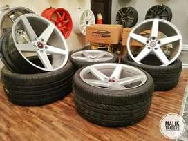 19s VOSSEN CV3 stagged WHEELS With tyres