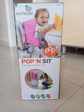 Dijual Kursi Makan Bayi Summer Pop n Sit Portable