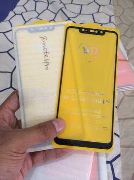 Tempered Glass Full 5D Redmi Note 5,Note 6 Pro,Redmi S2,Redmi 5 Plus