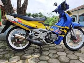 Suzuki Satria lumba 2 tak