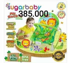 Baru bouncer Sugarbaby my rocker 3 stages