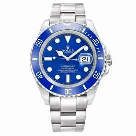 Rolex submariner blue stainless steel fullset