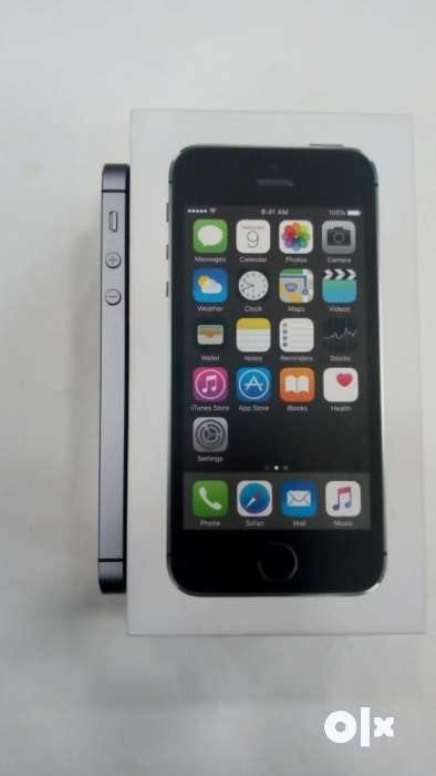Apple iPhone 5s 16GB (Space Grey) - Good Condition & Fully Working 0