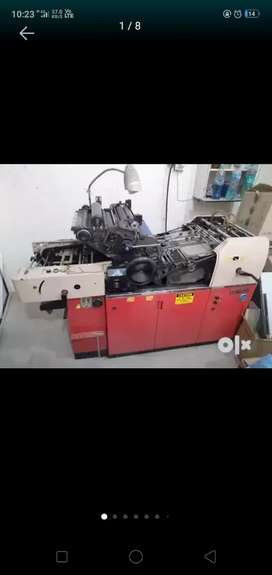 Offset machine (printing machine)