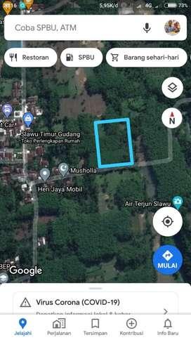 Tanah Sawah Murah Daerah Slawu