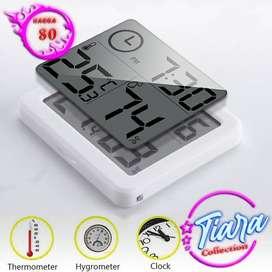 Jam Digital Meja Dinding Thermometer Hygrometer