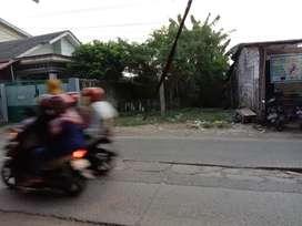 Tanah Pinggir Jalan Raya KP. Pangkalan
