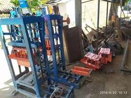 Mesin press batako atau paving siap antar