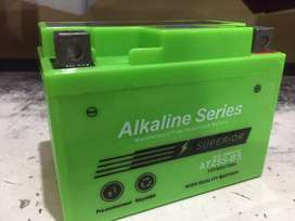 Alkaline battery 5 ah ali homda vario 110,genio,verza,scoopy,spacy