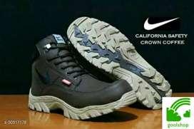 Sepatu safety booth brown Nike. Bayar ditempat
