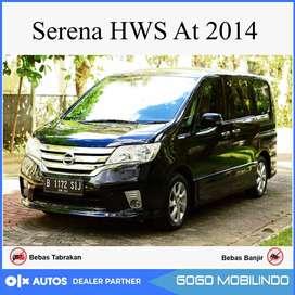 (DP29JT) Nissan Serena HWS AT 2014 Kredit Murah