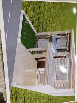 Double storey house for sell at ideal location garden town multan