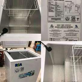 Freezer Kulkas RSA 100 Liter Bekas