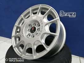 VELG BUAT MOBIL AVANZA RING 16X7 PCD 8X100-114 HSR WRC