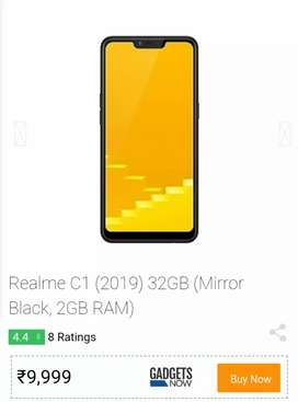 Real me C1 very good condition 32gb rom 2gb ram