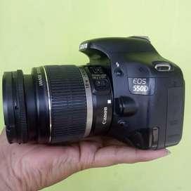 Canon 550d 18mp video FullHD siap pakai