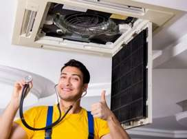 Wanted AC Technician For summer season In Hyd Percentage + Salary ..