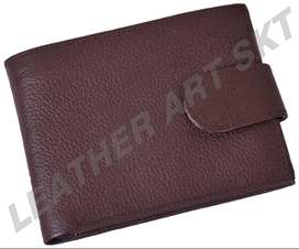 Button Wallet (Genuine Leather )