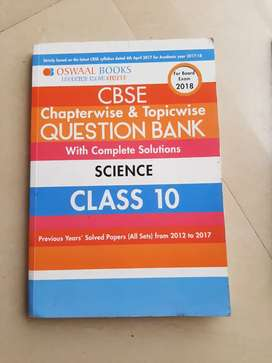 Oswaal class 10 question bank