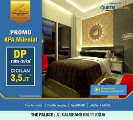 DP 0% Utk Kupang,Miliki Apartemen diKawasan Kampus&Wisata,The Palace