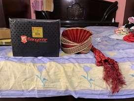 Manyavar Maroon Pagdi Safa