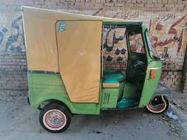 New Asia rickshaw with invoice and file.