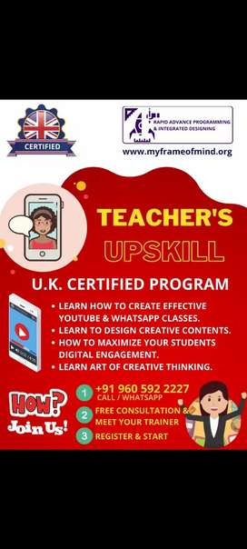 Teacher's training program