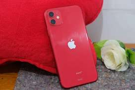 Iphone 11 64gb merah garansi tam