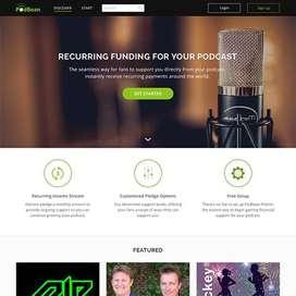 Website Design in Photshop