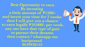 Open challenge to all You can Earn 20k above Weekly by partime