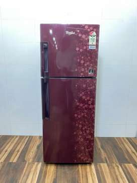 Whirlpool 260 litre double door refrigerator with free home delivery