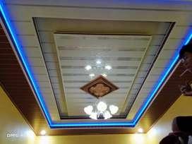 Plafon PVC Gypsum Murah Borongan Terima Jadi Area Demak dst
