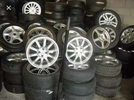 Less used indian tyres for cars.