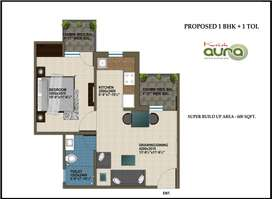 1bhk fully furnished flat for rent...