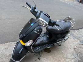 One year old Vespa Sxl 125. 19200 kms driven. mint condition.