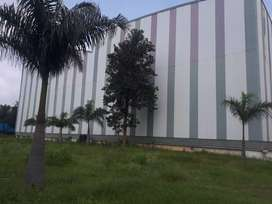 4.7 acres industrial land with 50000sft industrial shed for sale