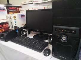komputer rakitan Lengkap siap pakai Core i3 utk Kantor,UNBK,gaming DLL