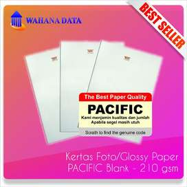 Kertas Foto Glossy Photo Paper A4 210 Gsm Pacific Proffesional 20 lbr