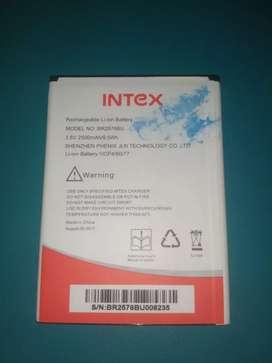 Intex Battery 2500mah (model - BR2576BU)