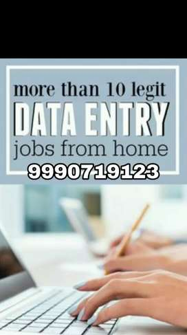Huge earning with minimum work start data entry work join us