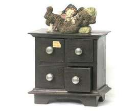 Miniatur Lemari Teddy Bear 4 Laci
